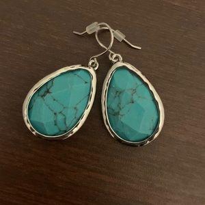 Chloe + Isabel Jewelry - C&I Minaret Turquoise Teardrop Earrings